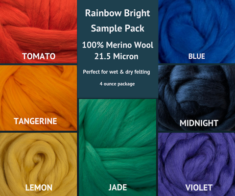 Ashland Bay Merino Wool Sample Packs