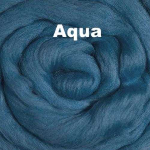 Ashland Bay Solid-colored Merino Wool Aqua