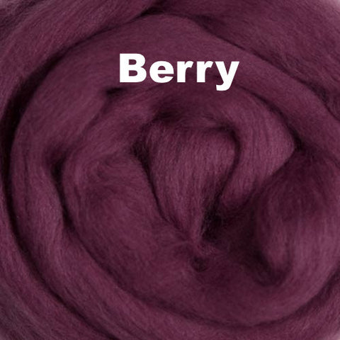 Ashland Bay Solid-colored Merino Wool Berry