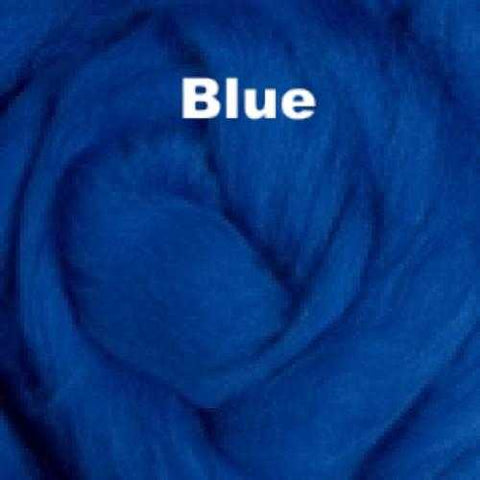 Foxglove Solid-colored Merino Wool Blue