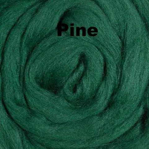 Ashland Bay Solid-colored Merino Wool Pine