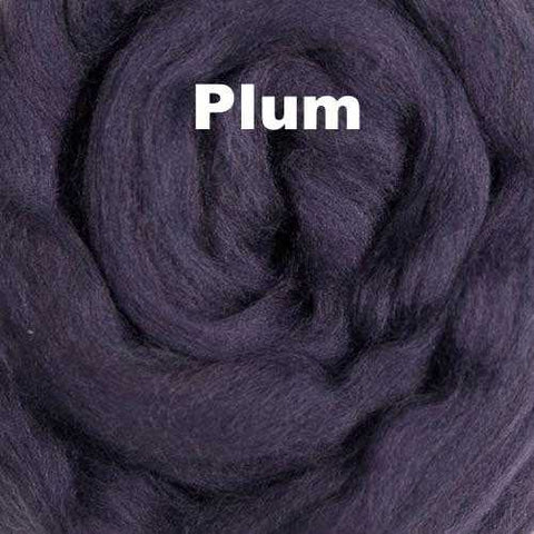 Ashland Bay Solid-colored Merino Wool Plum
