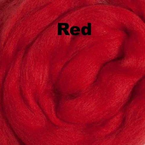 Ashland Bay Solid-colored Merino Wool Red