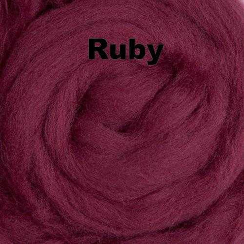 Ashland Bay Solid-colored Merino Wool Ruby