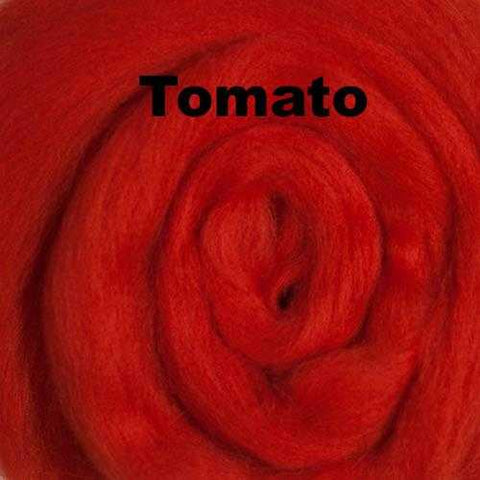 Ashland Bay Solid-colored Merino Wool Tomato