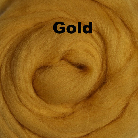 Foxglove Solid-colored Merino Wool Gold