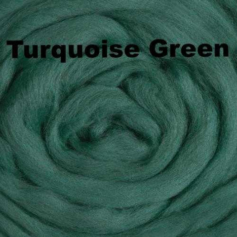 Ashland Bay Solid-colored Merino Wool Turquoise Green