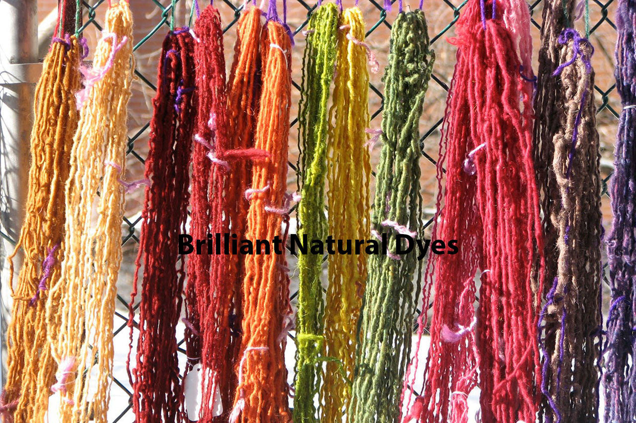 Brilliant Natural Dyes