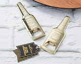 Gold Be*r Shaped Bottle Opener