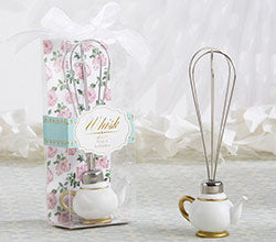 Tea Time Whimsy Teapot Whisk