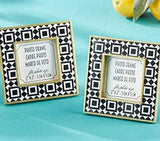 Tropical Chic Tile Patterned Frame
