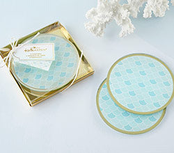 Seaside Escape Glass Coaster