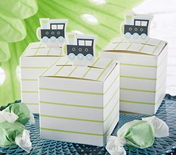 Precious Cargo Train Favor Box (Set of 24)