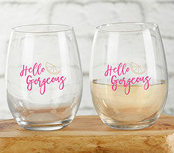 Cheery and Chic 15 oz. Stemless Glass (Set of 4)