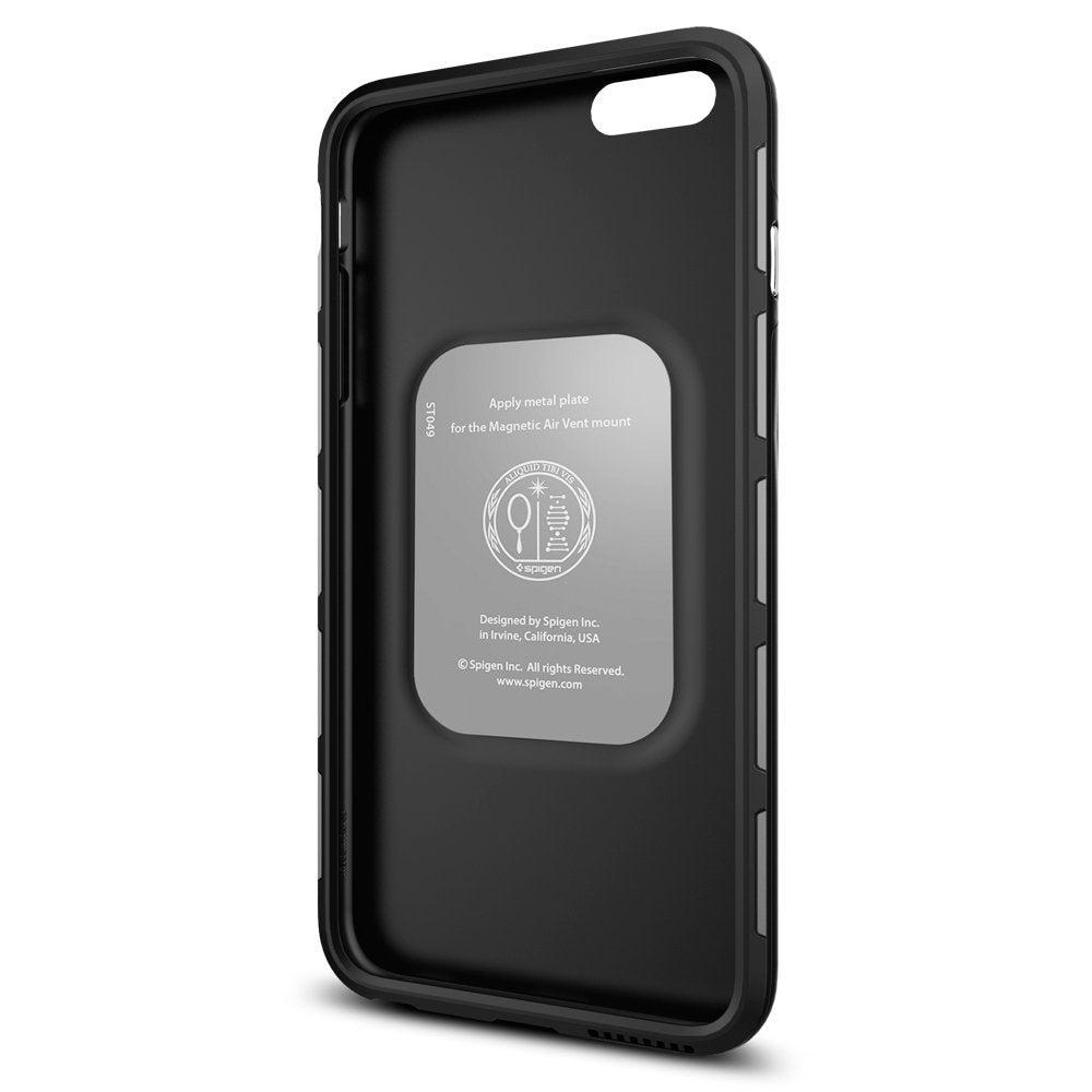 new style eeabe 90aff Spigen Thin Fit Hybrid iPhone 6S Plus Case with Premium SF Coated Non Slip  Matte Surface