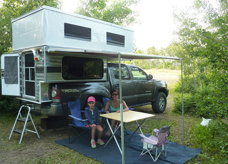 Four Wheel Campers Swift Pop Up 5 0 Shorter Bed Main