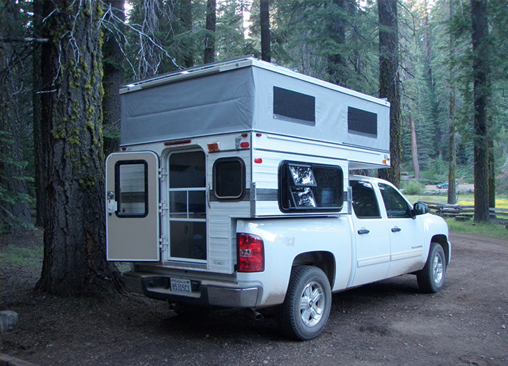 Four Wheel Campers Raven 5 8 Shorter Bed Main Line