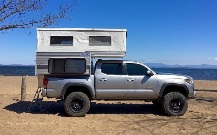 Four Wheel Campers Swift Pop-Up (5 0' Shorter Bed)- Main