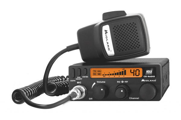 Midland- 1001LWX CB Radio with Weather Scan