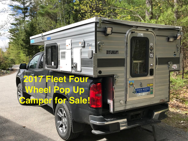 Customer Classified: 2017 Four Wheel Camper Fleet Front Dinette Camper Model