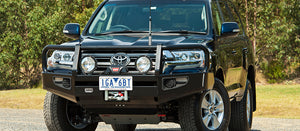 ARB Front Commercial Bull Bars - 200 Series Land Cruiser