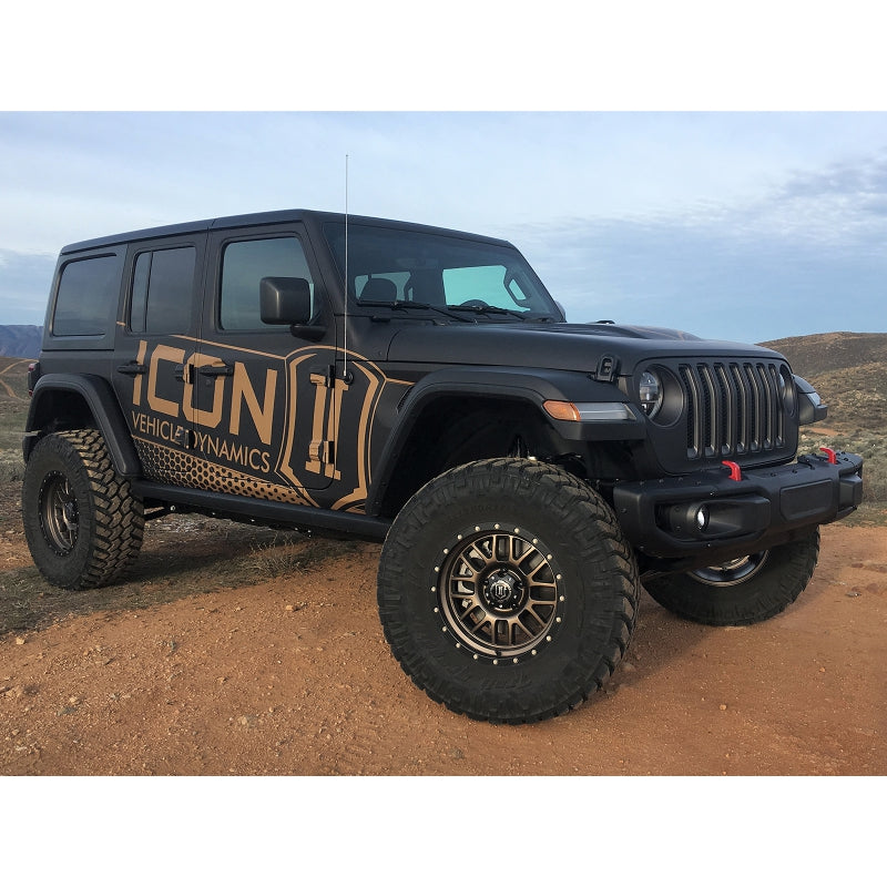"ICON 2018-UP Jeep JL 2.5"" Suspension System - Stage 4"