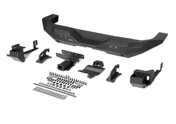 RIVAL Rear Full-Width Aluminum Bumper for Jeep JL