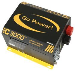 Go Power!- 3000 Watt Industrial Pure Sine Wave Inverter