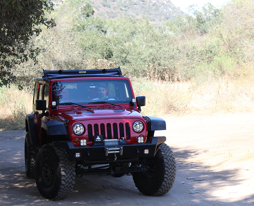 Baja Designs Jeep, JK, A-Pillar Mount Kit
