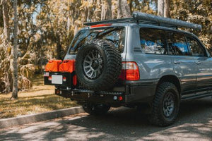 Dobinsons- Rear Bumper with Swing Outs (Toyota Land Cruiser 100 Series & Lexus LX470)