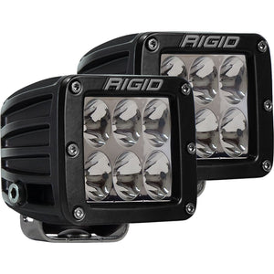 Rigid Industries D-Series Pro Specter Driving Surface Mount Black - SINGLE LIGHT