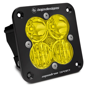 Baja Designs Squadron Sport, Flush Mount, LED Driving/Combo