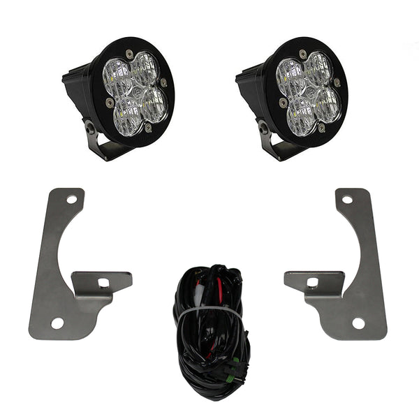 Baja Designs Jeep, JK, Rubicon X/10th Anne/Hard Rock, Squadron-R LED Fog Pocket Kits