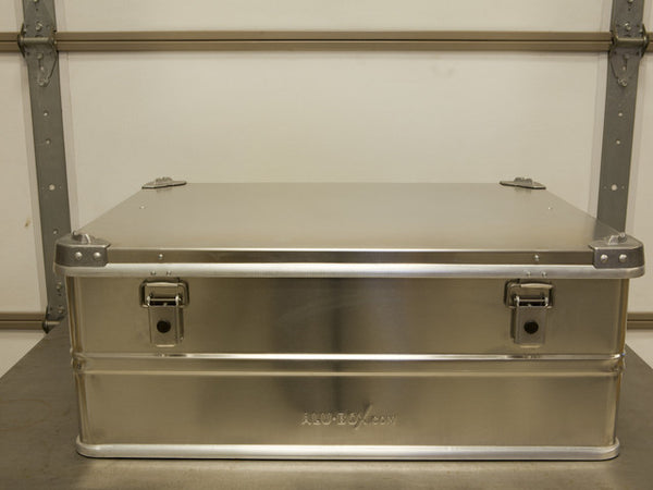 Alu-Box 120 Liter Aluminum Storage Case ABS120
