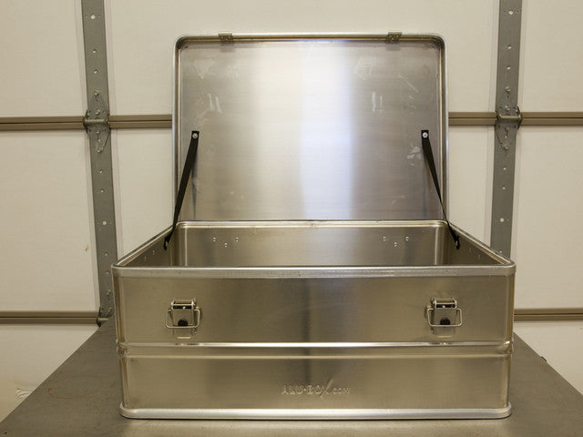 Alu-Box 120 Liter Aluminum Storage Case ABS120 - In Stock!