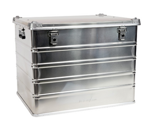 Alu-Box 134 Liter Aluminum Storage Case ABS134