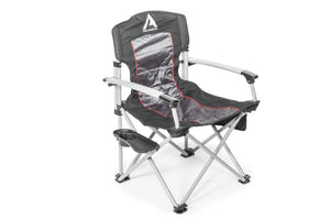 ARB Air Locker Camp Chair with Side Table - Black
