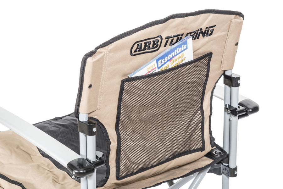ARB Touring Camp Chair with Table - Tan