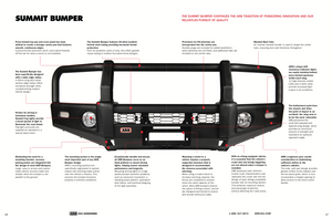 ARB Front Summit Bull Bars - 200 Series Land Crusier