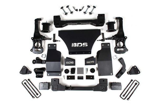 "BDS Suspension 4"" Suspension System 2019-2020 Chevy / GMC 1/2 Ton Pickup 4WD Denali w/ ARC"