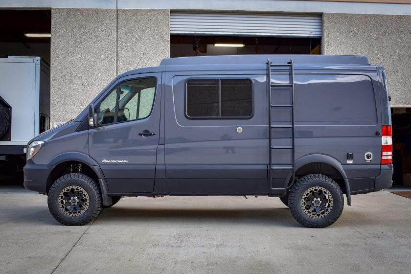Agile Offroad Ride Improvement Package Sprinter 2500 2x4