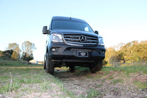 VAN COMPASS™ MERCEDES 4X4 SPRINTER ENGINE SKID PLATE (2016+)
