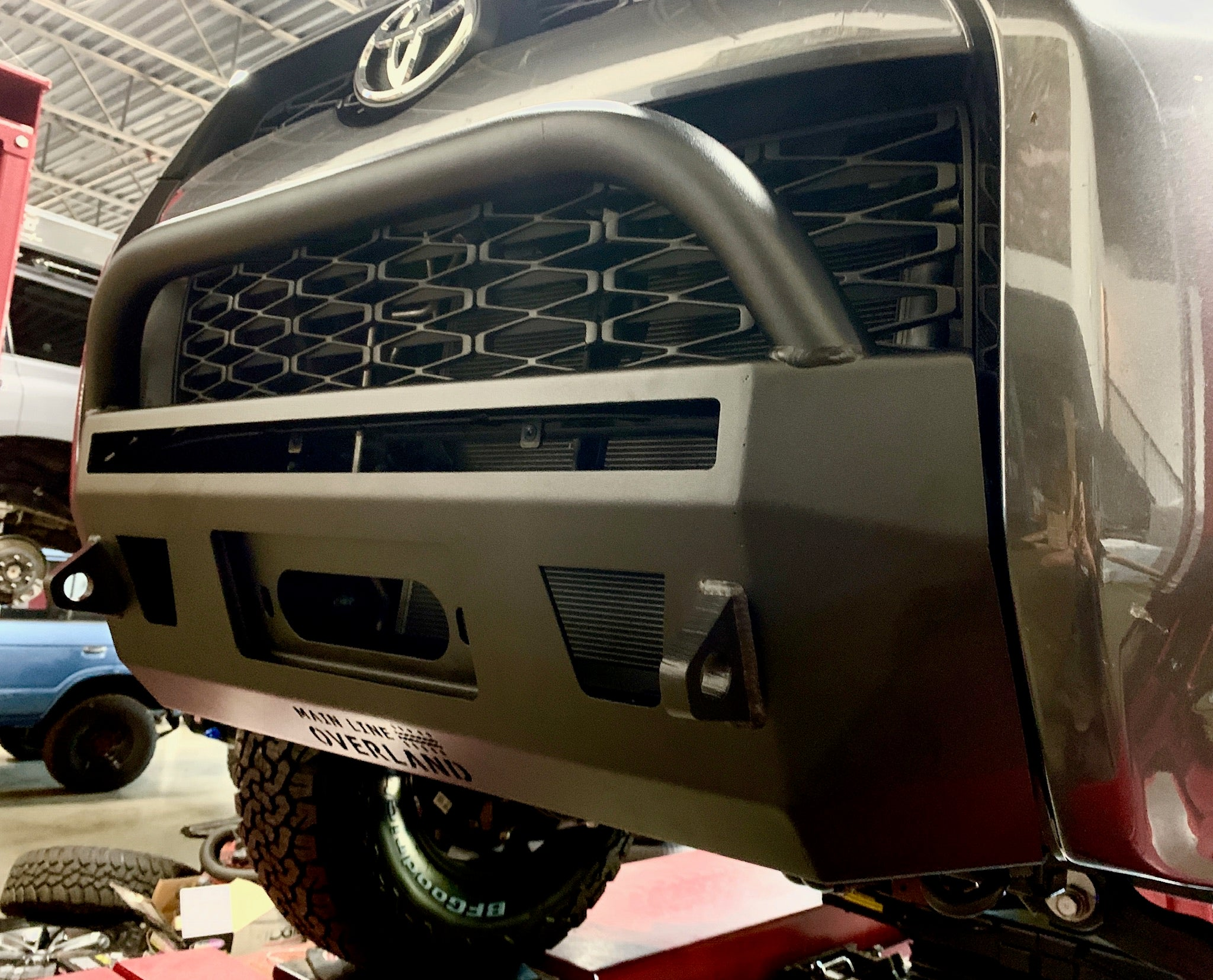 Main Line Overland Center Bumper 2014 5th Gen 4runner