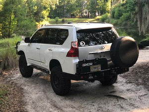 Dobinsons- Rear Bumper with Swing Outs (Lexus GX460 & Prado 150)
