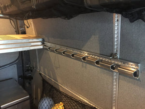 Adventure Wagon Wall Track & Bracer Kit for Sprinter 170