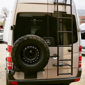 Owl Van Engineering Owl Sprinter Van Tire Carrier 2006-2018