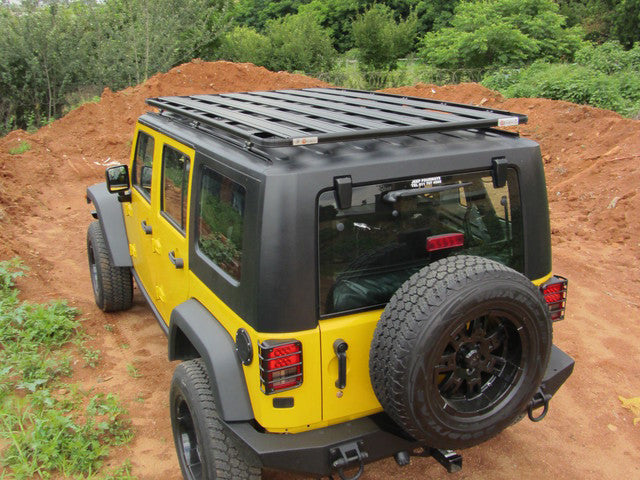 Eezi Awn K9 2 2 Meter Roof Rack System For Jeep Wrangler