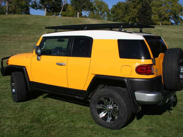 Eezi Awn K9 2.2 Meter Roof Rack System for Toyota FJ Cruiser *Free Shipping*