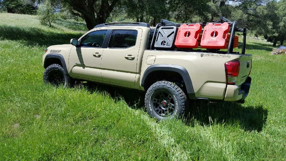 LEITNER DESIGNS - Active Cargo System - 2016+ Toyota Tacoma Short Bed ... & LEITNER DESIGNS - Active Cargo System - 2016+ Toyota Tacoma Short ...