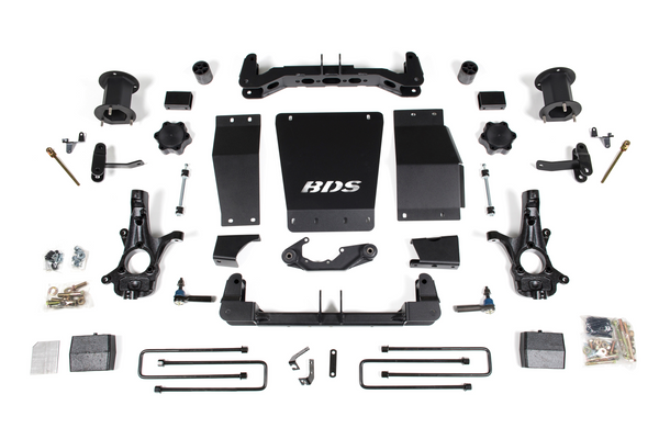 "BDS Suspension 2014-2018 Chevy / GMC 1/2 Ton Pickup 4WD GMC w/ Magneride 6"" Suspension System"